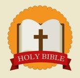 Holy bible design Royalty Free Stock Photos