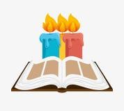 Holy bible design Royalty Free Stock Image