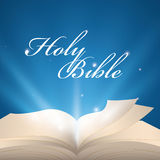 Holy bible design. Royalty Free Stock Image