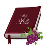 Holy bible design Royalty Free Stock Images