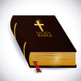 Holy bible design. Stock Photography