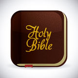 Holy bible design. Holy bible design over white background, vector illustration Stock Images