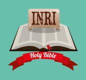 Holy bible design Stock Photo