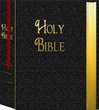 HOLY BIBLE GRAPHIC Royalty Free Stock Photo