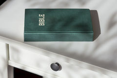 Holy Bible on a night table Royalty Free Stock Photos