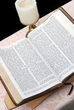 Holy Bible Open 2 Stock Photos