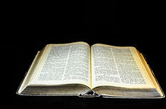 Holy Bible open Royalty Free Stock Images
