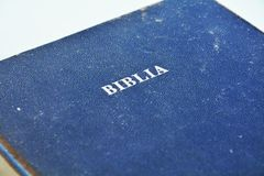 The Holy Bible Royalty Free Stock Photo
