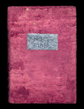 Holy Bible in a soft velvet cover Royalty Free Stock Photo