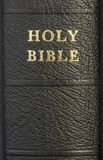Holy Bible spine Royalty Free Stock Image
