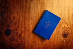 Holy Bible on table Royalty Free Stock Image