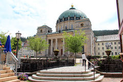 Holy Blaise Basilica, Germany. The Holy Blaise Basilica at the heart of the Black Forest, Germany Royalty Free Stock Photography