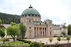 Holy Blaise Basilica, Germany. The Holy Blaise Basilica at the heart of the Black Forest, Germany Stock Image