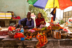 Holy blessings for sale in Kathmandu, Nepal Stock Images