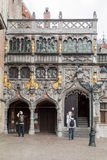 Holy Blood Basilica Bruges Belgium Stock Photo