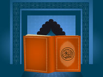 The holy book of Koran Royalty Free Stock Photo