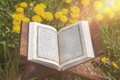 The Holy Quran stock photos