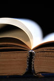 Holy book pages Royalty Free Stock Image