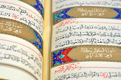 The Holy Book Of Quran Royalty Free Stock Images