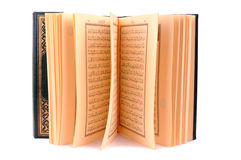 The Holy Book Of Quran Isolated Royalty Free Stock Image