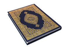 The Holy Book Quran Isolated Royalty Free Stock Photo