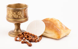 Holy bread Stock Photo