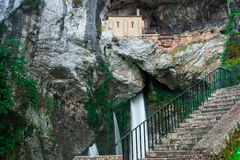 Holy cave  of Covadonga III Royalty Free Stock Photo
