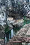 Holy cave  of Covadonga IV Royalty Free Stock Photos