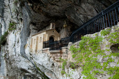 Holy Cave of Covadonga - Spain royalty free stock photos