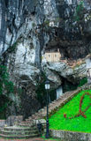 Holy cave  of Covadonga V Royalty Free Stock Images