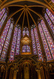The holy chapel. Sainte chapelle (holy chapel) in Paris, France Royalty Free Stock Photos
