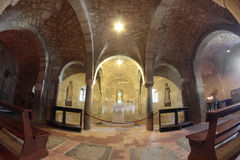The Holy chapel in San Leo cathedral, Italy Royalty Free Stock Images