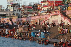 The Holy City Haridwar on the Ganges Royalty Free Stock Photography