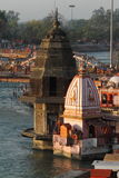 The Holy City Haridwar on the Ganges Royalty Free Stock Image