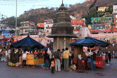 The Holy City of Haridwar Stock Photography