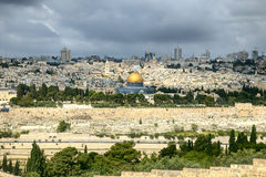 The holy city Jerusalem Stock Photo