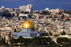 The holy city Jerusalem Royalty Free Stock Images