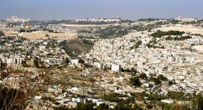 Holy city Jerusalem Stock Photos