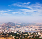 Holy city Pushkar. . Rajasthan, India Stock Image