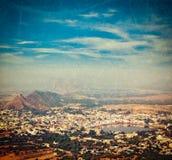 Holy city Pushkar. Rajasthan, India Royalty Free Stock Photo