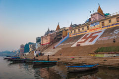Holy city of Varanasi, India Stock Photography