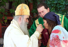 The Holy Communion Stock Photo