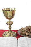 Holy communion time Royalty Free Stock Photography