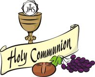 Holy communion Royalty Free Stock Photos