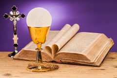 Holy communion Stock Photography