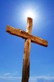 Holy cross against blue sky Royalty Free Stock Photos