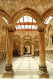 Column in Ishak Pasha. Near Dogubeyazit, Turkey Stock Photo