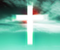 Holy Cross Background Royalty Free Stock Photo