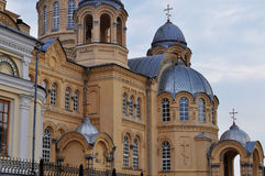 Holy Cross Cathedral  Mans Piously-Nikolaev monast Royalty Free Stock Photography