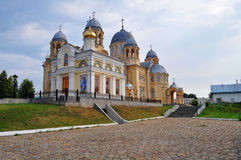 Holy Cross Cathedral  Mans Piously-Nikolaev monast Royalty Free Stock Images